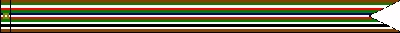 World War II, European-African-Middle Eastern Theater Ribbon #57