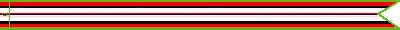 Afghanistan Campaign Ribbon #593